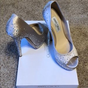 "Jimmy Choo Shoes - Limited Edition Jimmy Choo ""Sugar"" Champagne Pumps"